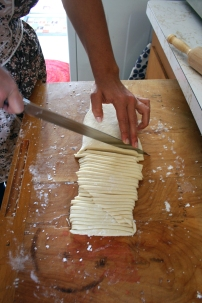 Cutting the Udon
