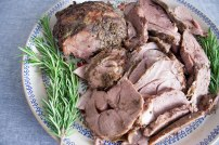 Finished Easter Lamb