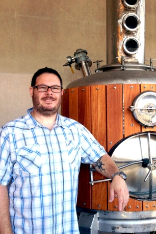 Carter Raff of Raff Distillerie